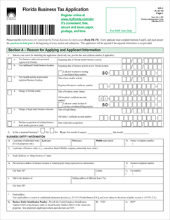 form dr 1 fillable florida business tax application r 01 15