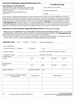 SalesUseTaxIA_60_0126Lab_20120724_Page_1 Salesperson Renewal Application Form on