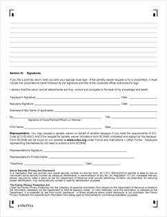 SalesUseTaxSC_c-530-_20140331_Page_2 Tax Penalty Waiver Application Form on free yoga, construction lien, personal injury, free printable lien, free medical, yoga class, contractor liability, simple lien,