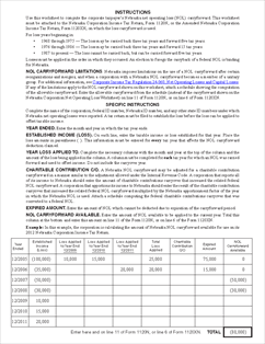 Worksheet 2012 Capital Loss Carryover Worksheet form corp nol nebraska corporation net operating loss worksheet view all 2012 ne tax forms