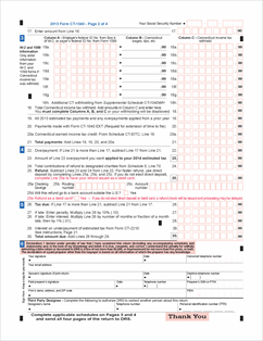 form ct1040 Form CT-1040 Fillable 2013 Resident Income Tax Return