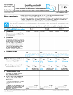 Printables Eitc Worksheet eic worksheet 2013 hypeelite printable 2013