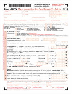 Resident Part-year Fillable Form Or Tax Nonresident Income 1-nr-py Return