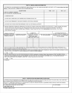 Form 22-1995 Request for Change of Program or Place of Training