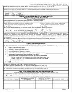 Form 22-5490 Dependents' Application for VA Education Benefits ...