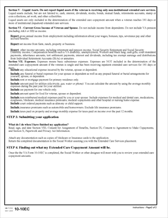 Form 10-10EC Application For Extended Care Services