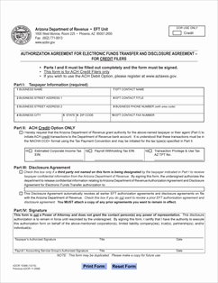 Form 10366 Fillable Electronic Funds Transfer (EFT) Disclosure ...