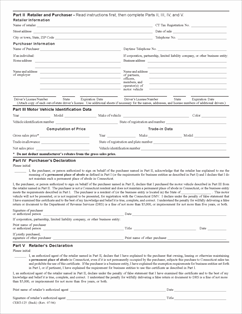 Form CERT-125 Fillable Sales and Use Tax Exemption for a Motor ...