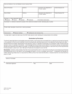 Form CERT-126 Fillable Exempt Purchases of Tangible Personal ...