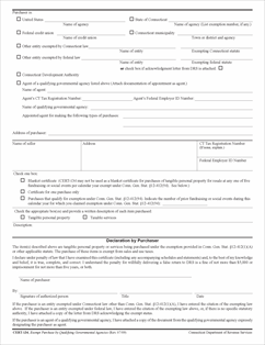Form CERT-134 Fillable Sales and Use Tax Exemption for Purchases ...