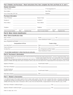 Form Cert 135 Fillable Reduced Sales And Use Tax Rate For
