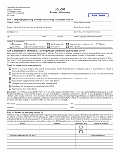 Form lgl 001 fillable power of attorney for Power of attorney to execute motor vehicle documents