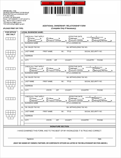 Form CRF-004 Fillable Form CRF-004 State Tax Registration ...