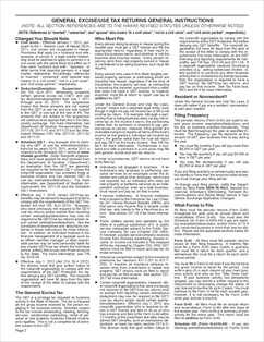 Form G-45/49 Ins. Fillable General Instructions for Filing General ...
