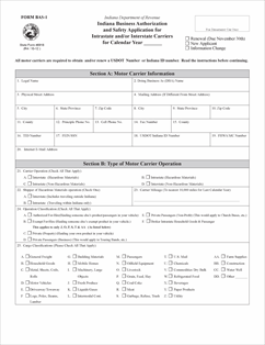 Form bas 1 fillable indiana business authorization and for Indiana bureau of motor vehicles phone number