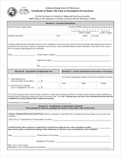 Form ST-108A Fillable Certificate of Sales Tax Paid or Exemption ...