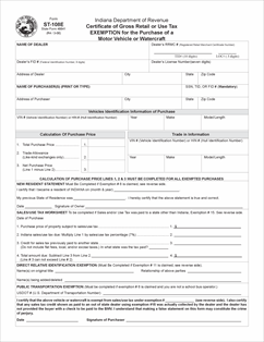 Form ST-108E Fillable Certificate of Gross Retail or Use Tax Exemption