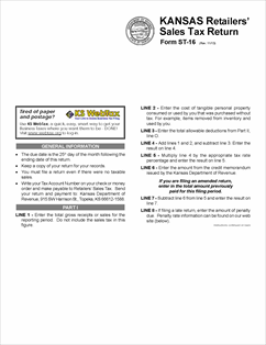 Form ST-16 Fillable Retailers' Sales Tax Return