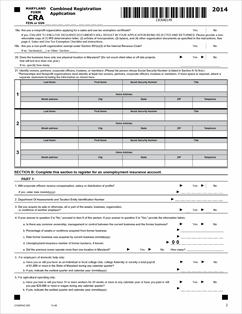 Form CRA Fillable Combined Registration Application