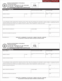 federal excise tax exemption form