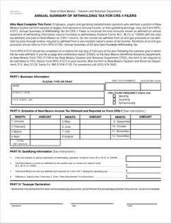 Form RPD-41072 Fillable Annual Summary of Withholding Tax for CRS ...