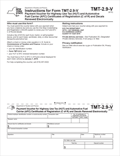 Form Tmt 2 9 V Fillable Payment Voucher For Highway Use