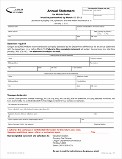 Form 150-302-132 Fillable Mobile Radio Companies