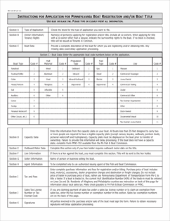 Form REV-336WEB Fillable Application for Pennsylvania Boat ...