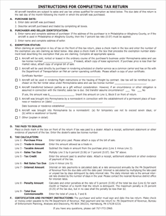 Form REV-832 Fillable Aircraft Sales and Use Tax Return (REV-832)