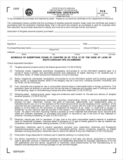Form ST-8 Fillable Exemption Certificate