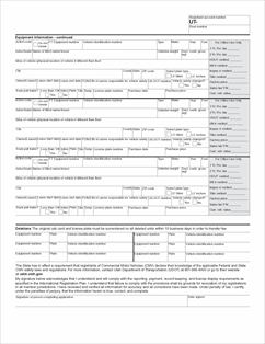 Form TC-852 Fillable IRP Original (Schedule A) and Supplemental ...