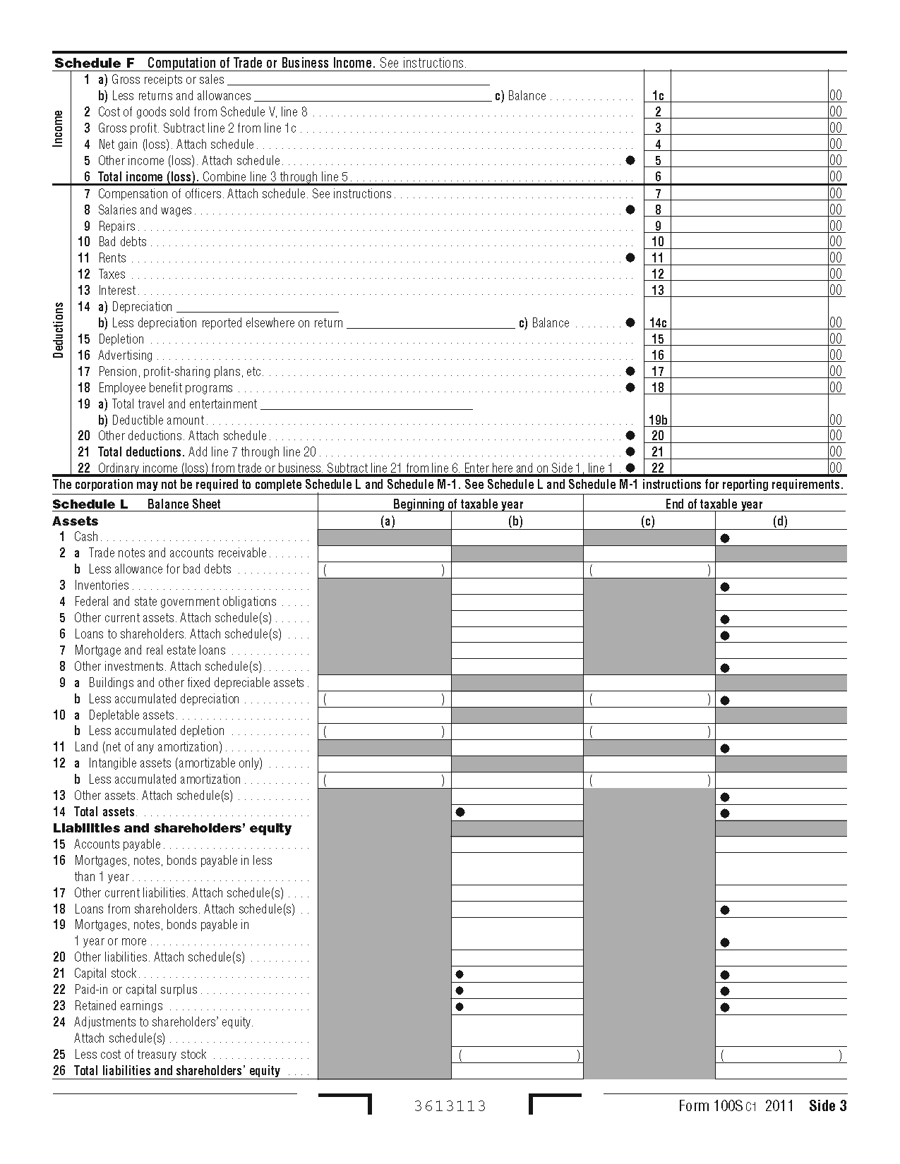 100s form california s corporation franchise or income tax return view all 2011 ca california tax forms falaconquin