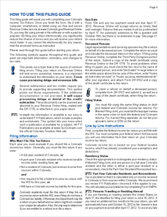 Form 104 Instructions Income Tax Instructions
