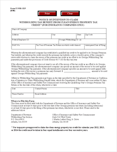 Form IT-WH-CEP Notice of Intent to Claim the Withholding Benefit ...