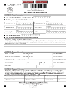 tax2011ga_tsd_penalty_waiver_form_2012_20111219_page_2 Tax Penalty Waiver Application Form on free yoga, construction lien, personal injury, free printable lien, free medical, yoga class, contractor liability, simple lien,