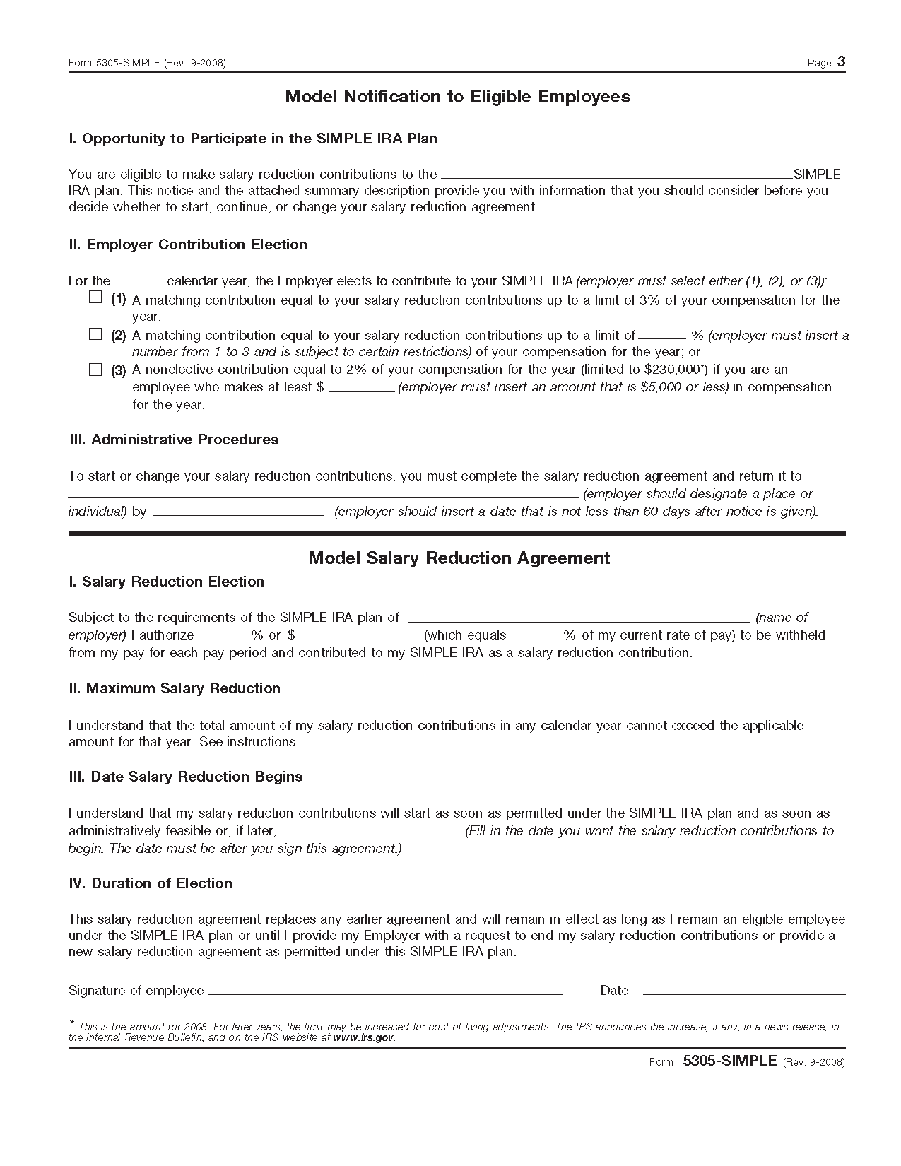 Irs form 5304 simple image collections standard form examples form 5305 simple savings incentive match plan for employees of view all 2011 irs tax forms falaconquin