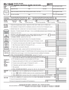Rhode Island Withholding Tax Form