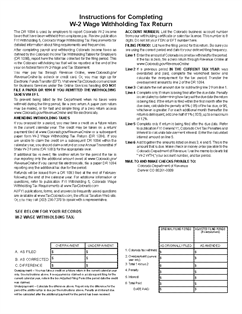 Form DR-1094 Income Withholding Tax Return