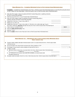 2011 child tax credit worksheet