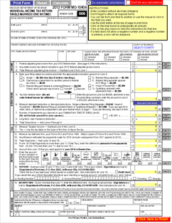 Print 1040a tax return form book covers for 1040a tax table 2012 irs
