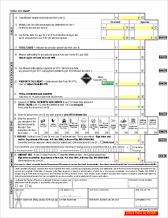 Missouri 1040A Tax Form 2012