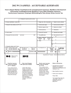 Form M-6025 W-2 Sample - Reporting Guidelines