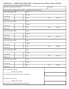 Form NJ-1080C Nonresident Composite Return and Schedules A, B and C