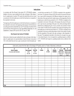 Form FT1120VL Valuation Limitation on Gains and Losses ...
