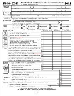 Tax refund tax refund rhode island for 1040x instructions tax table