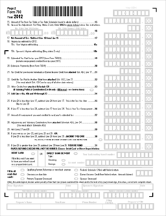 Form 760 760 - Resident Individual Income Tax Return