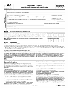 Form W-9 Fillable Request for Taxpayer Identification Number and ...