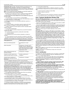 Form W-9 Fillable Request for Taxpayer Identification ...