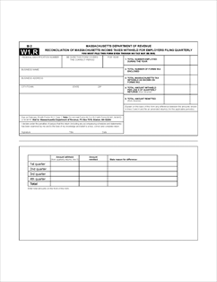 Form M-3 Fillable Reconciliation of Massachusetts Income ...