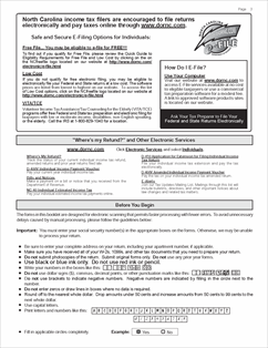 Form D-401 Fillable Individual Income Tax Instructions for Form D-400